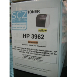 Toner zamiennik HP Q3962A 3962  HP122A  [4k]  (yellow) do HP 2550 2820 2840