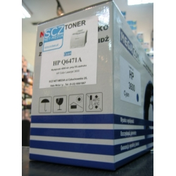 Toner HP Q6471A zamiennik cyan do HP 3600